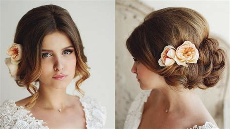 Bridal Hairstyles Let by 26 Beautiful Wedding Hairstyles For Bridal