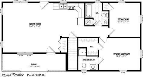 barn apartment floor plans 24 x 36 floor plans 24 x 48 including 6 x 22 porch 2