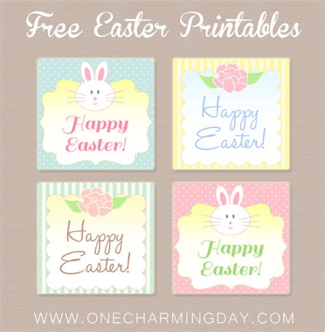 printable easter labels free free easter printable tags one charming day