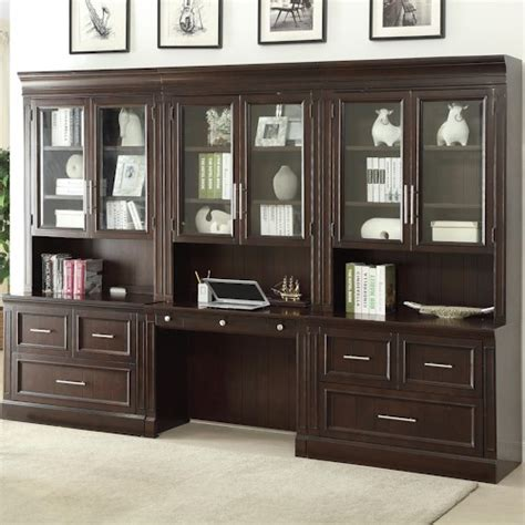 Home Office Desk Units House Stanford Wall Unit With Lateral Files And Built In Desk Wayside Furniture Desk