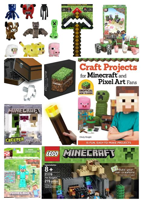 30 minecraft gift ideas saving mamasita