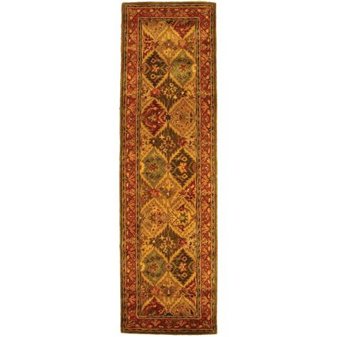 10 foot rug runners safavieh heritage multi 2 ft 3 in x 10 ft rug runner hg111a 210 the home depot