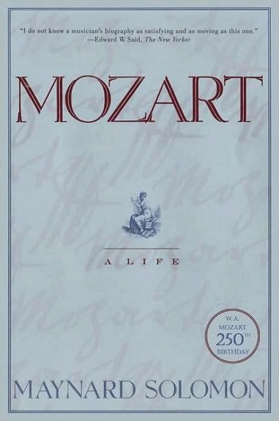 Mozart Biography Book Pdf | mozart a life by maynard solomon paperback barnes noble 174