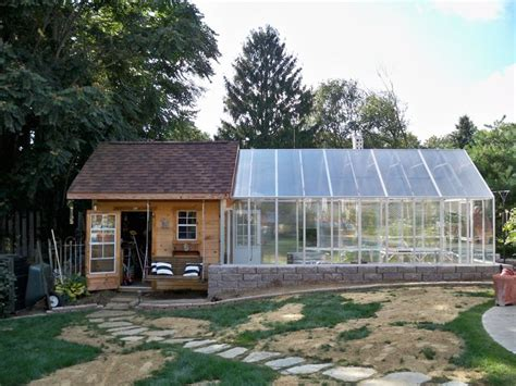 Shed With Greenhouse Attached by Pin By Julie Rafferty On Outdoors And Landscaping