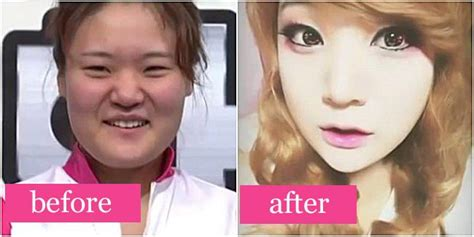 tutorial make up korea before after 92 best before after makeup looks images on pinterest