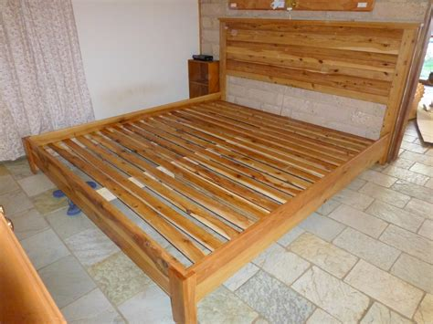build a king size bed how to build a platform bed with headboard online