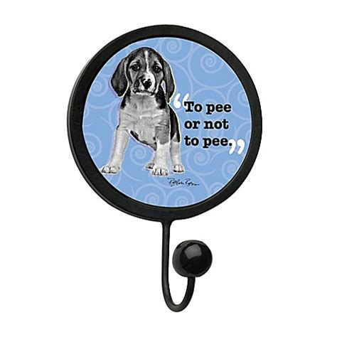 Hookups Or Not by Thirstystone Quot To Or Not To Quot Leash Hook In Black