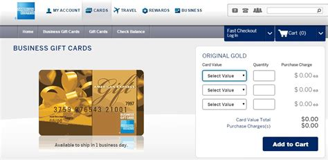 American Express Business Gift Cards - american express business gift cards portal 2 cashback