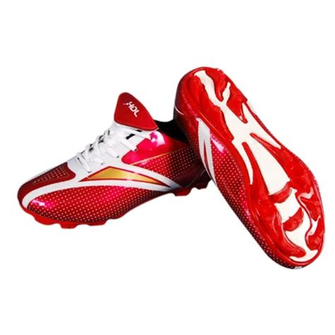 comfort football hdl comfort football stud shoes red and white buy hdl