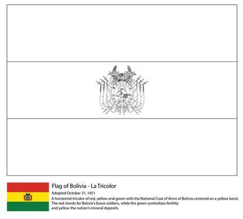 bandera de peru coloring pages bolivia flag coloring page free printable coloring pages