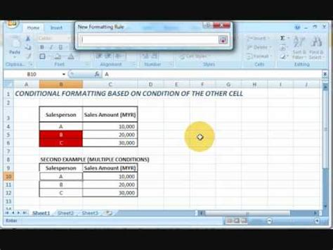 excel 2007 format cells based on another cell value excel 2007 conditional formatting based on another cell