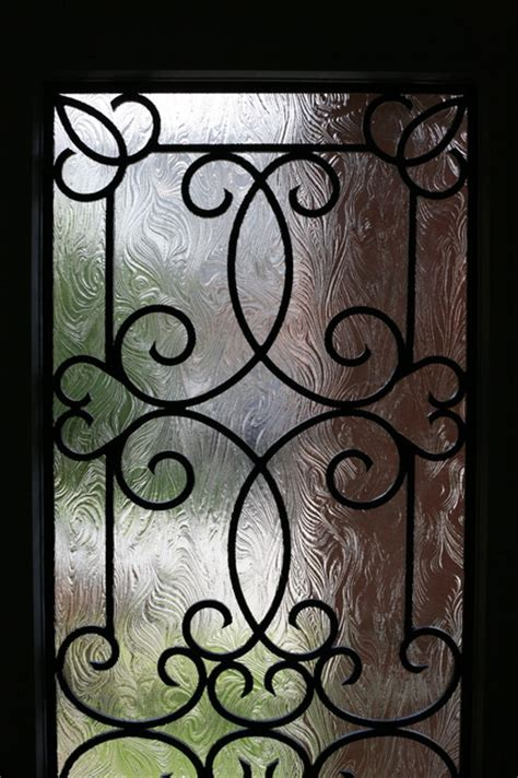 Wrought Iron Door Inserts by Classic Style Wrought Iron Door Inserts Entry Other