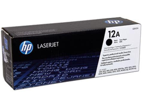 Tinta Laserjet 12a Cartucho De Toner Hp 12a Laserjet Color De Tinta Negro