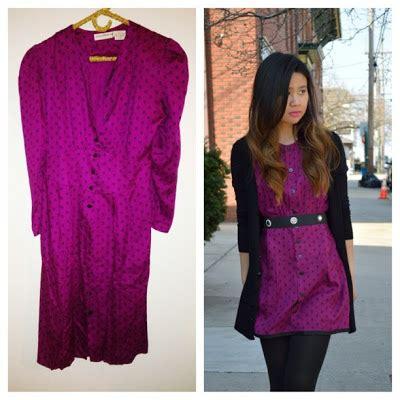 diy vintage dress reconstruction