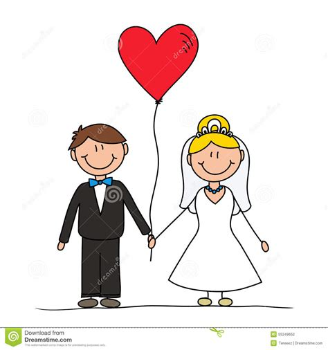 Wedding Ceremony Drawing by Wedding Drawing Stock Illustration