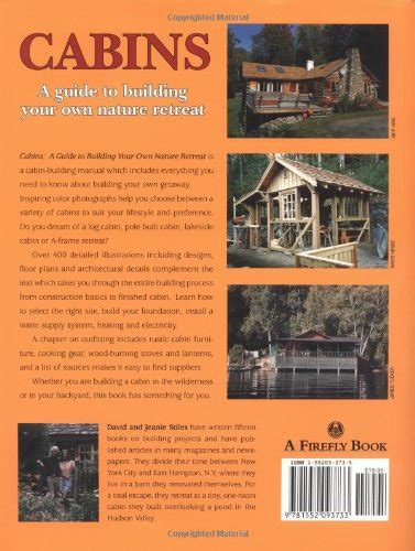 cabins a guide to building your own nature retreat toolfanatic com