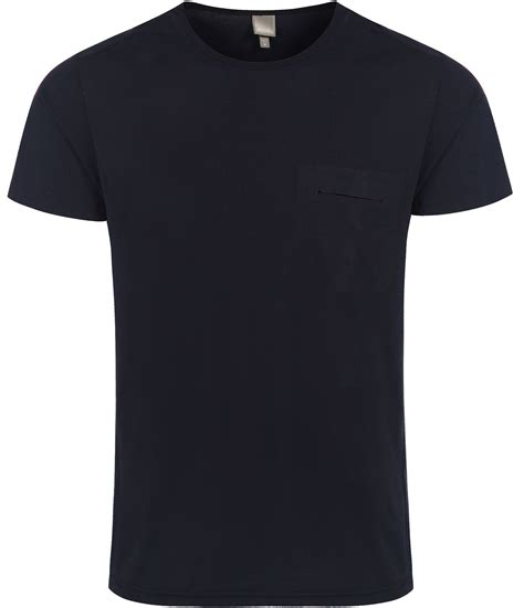 bench plain shirts bench triapse plain crew neck regular fit t shirt in blue