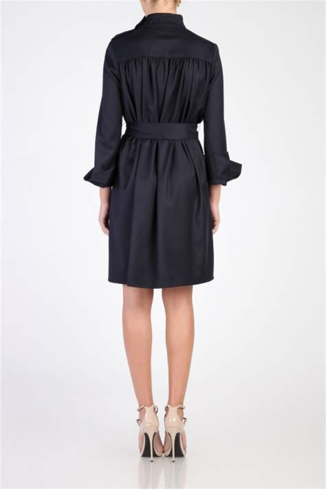 Isabelle Seleve flared sleeves drappped mini dress tgh fashion