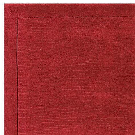 Poppy Rug by York Poppy Rug Plain Wool Rugs From Only 163 33