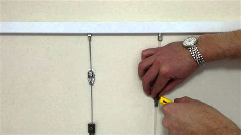 Picture Hanging Solutions slimline hanging system shakespeare solutions