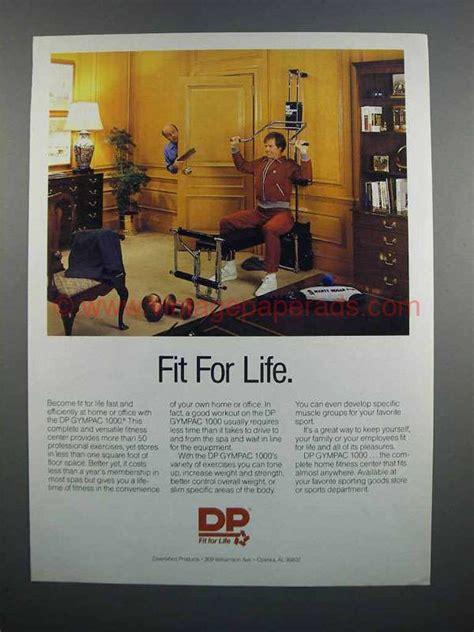 1983 dp gympac 1000 home fitness center ad
