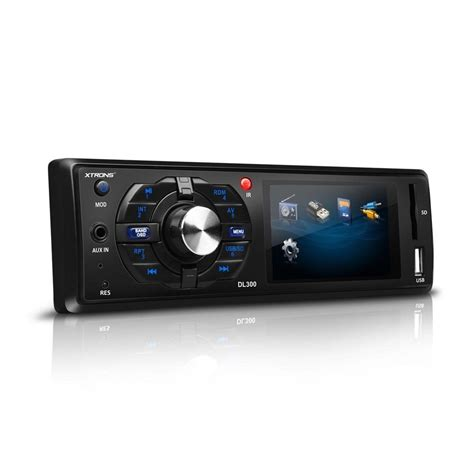 Single Din Mobil Unit Usb Sd Card Radio Mp3 Player Orca single din unit 3 quot screen aux in usb sd card 720p hd mp4 radio ebay