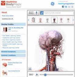Bodymaps interactive 3d human body map online image