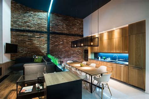 loft modern modern loft with surprising elements