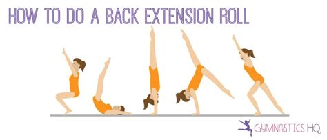 how do you your to roll how to do a back extension roll