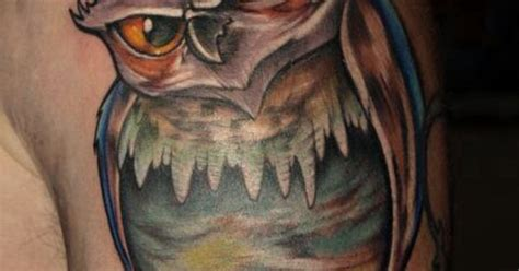 new school realism tattoo new school owl with a touch of realism owl tattoos new