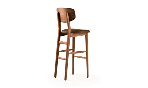 Wooden Bar Stool With Back Stylish Bar Stool With Back Wood With Stylish Butterfly Wooden And Brown Leather Stool Design