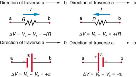 direction of current through a resistor kirchhoff s 183 physics