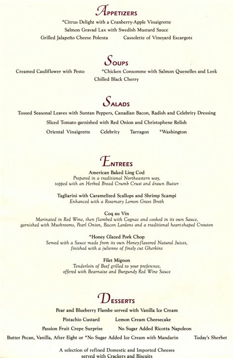 The Dining Room St Menu by Infinity Pac Nw Menus