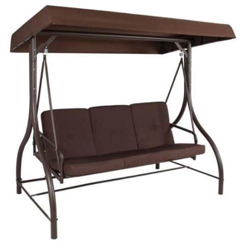3 seat patio swing with canopy converting outdoor swing canopy hammock seats 3 patio deck