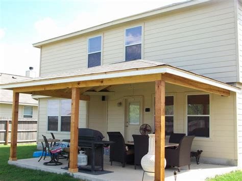 How To Build A Patio Cover by How To Build A Porch Roof With Your Own