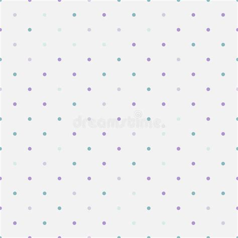 seamless polka dots patterns background pastel stock vector seamless pattern with colorful pastel polka dots stock