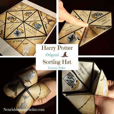 Harry Potter Origami - 127 best magical harry potter ideas images on
