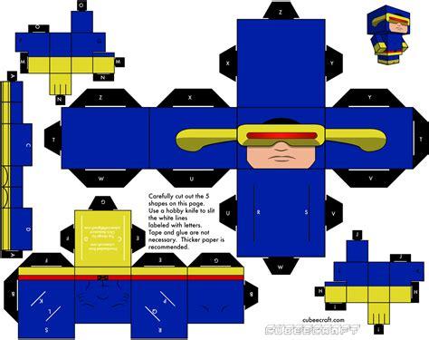 Paper Cube Craft - cyclops http cdn cubeecraft downloads