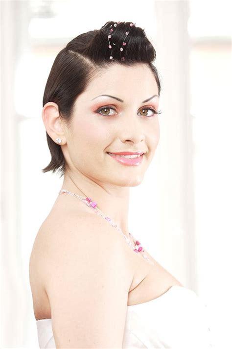 Hochzeitsfrisur Kurze Haare by Brautfrisuren F 252 R Kurze Haare Tipps Beispiele