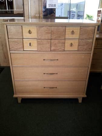 mid century modern kroehler bedroom set  sale