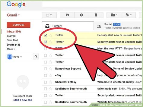 How To Search For An Email In Gmail How To Archive Emails With Gmail 6 Steps With Pictures