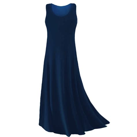 Navy To Discontinue Plus Size Line In Store by Sold Out Plus Size Navy Blue Slinky Tank Dress