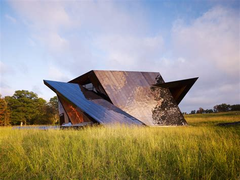 daniel house 18 36 54 house with a bronzed metallic exterior by daniel libeskind homeli