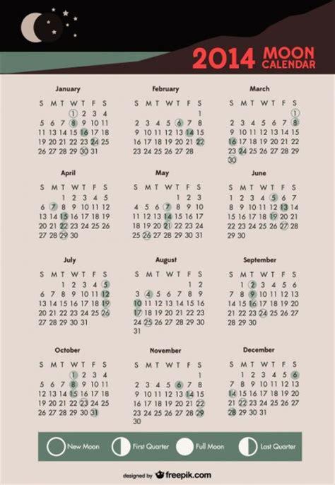 Calendrier Lune 2014 2014 Calendrier De Lune Phases Lunaires T 233 L 233 Charger Des