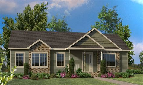 ranch style homes and porches on idolza different exterior home ranch style modular homes front porches for ranch style