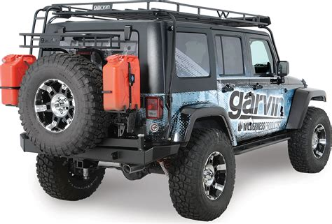 garvin 169 66703 trail rack for 07 17 jeep 174 wrangler