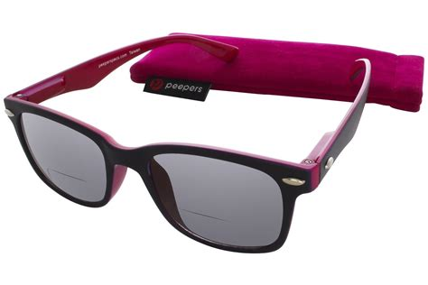 peepers gling womens bifocal sun reading glasses