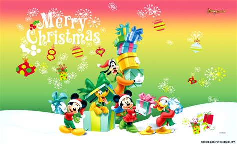 merry christmas mickey mouse wallpaper best wallpapers