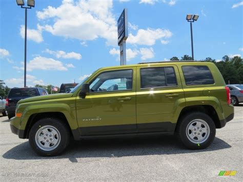 green jeep patriot rescue green metallic 2012 jeep patriot sport exterior