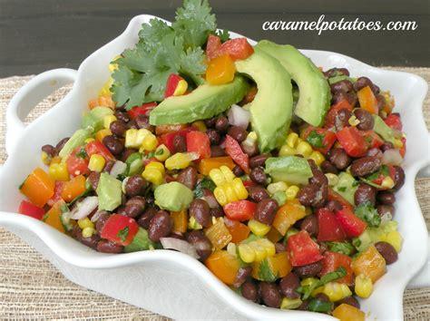 black bean salad recipe dishmaps